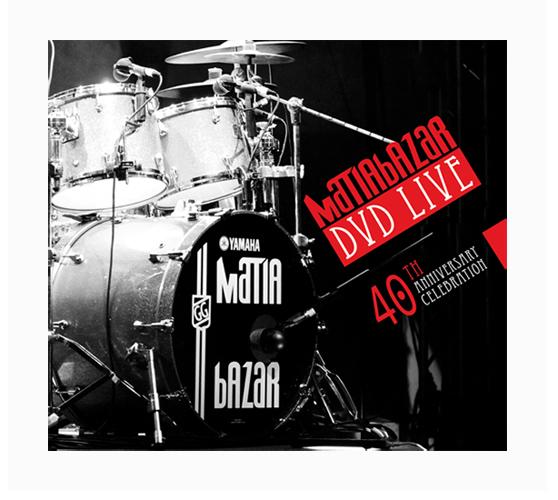 DVD live  ( contiene CD con i brani live )  2015