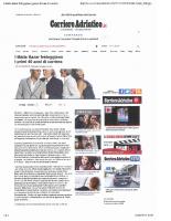 Corriere Adriatico.it 13.04.2015